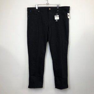 NWT Gap Black Always Skinny Fresh Crop Jeans